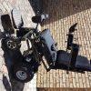 A Standing power wheelchair