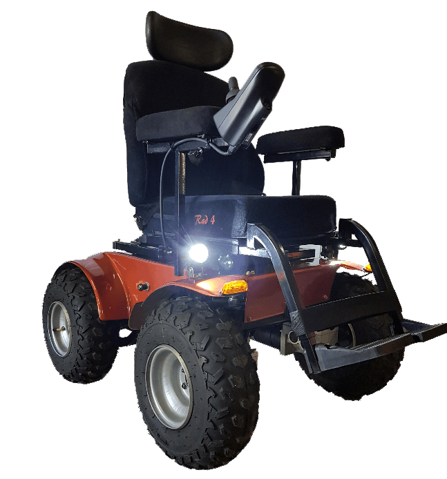 Predator 4 x 4 Power Wheelchair